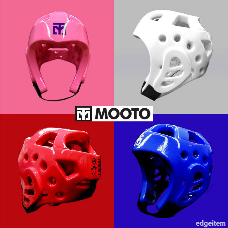MOOTO NEO Taekwondo Head Gear White   Pink   Red   blueee TKD Guard WTF Predector