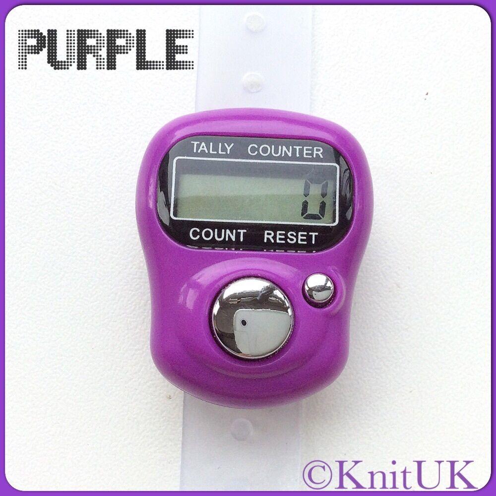 choose colour Digital Tally Counter KnitUK Knitting Row Counter