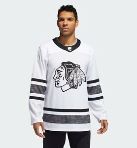 f25426c2c adidas Chicago Blackhawks NHL White Parley All-Star Authentic Jersey ...