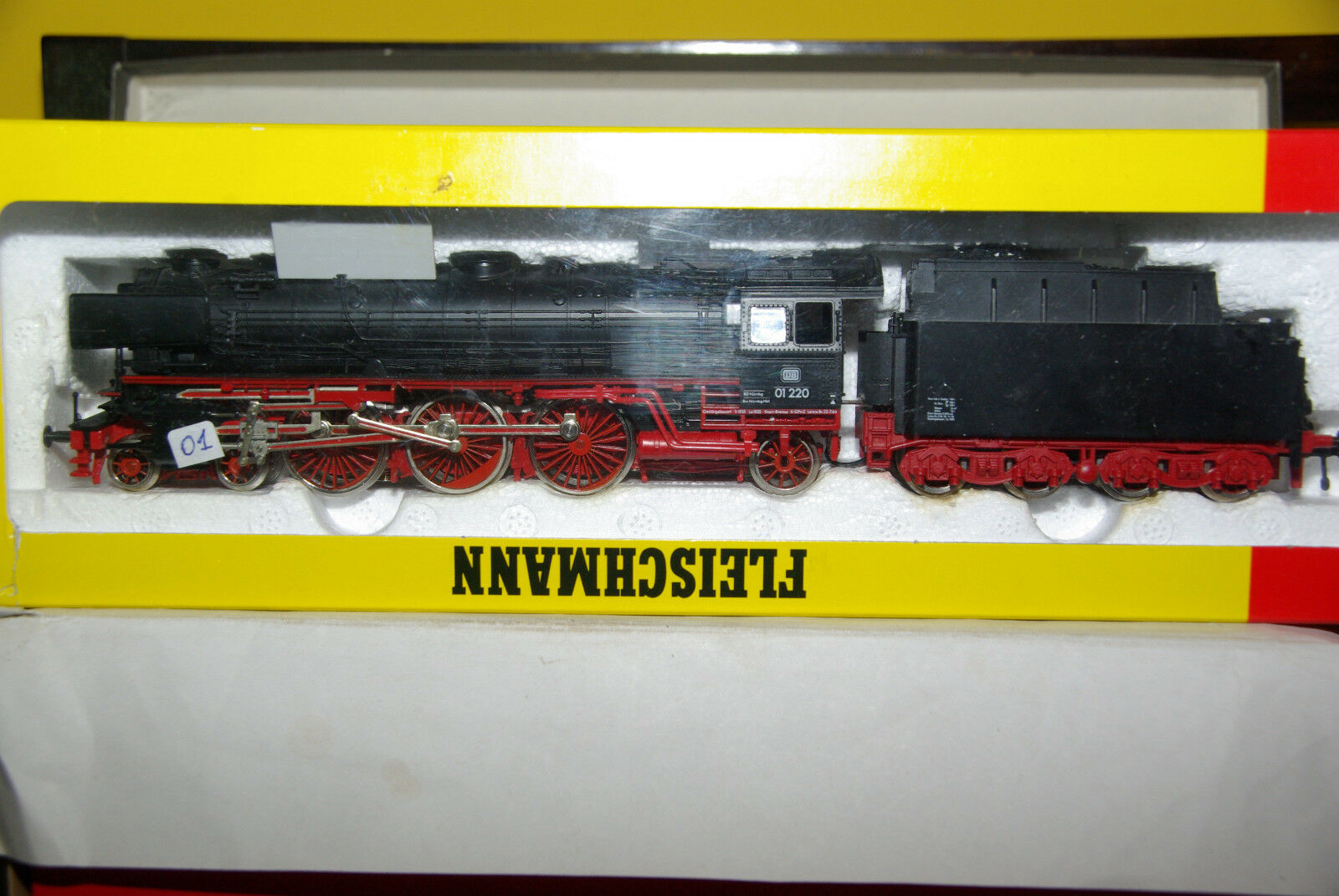 FLEISCHMANN HO IL GIGANTE NERO Prosso.FUMO ART.4170 SER 01 220 USATO +SCAT. TOP