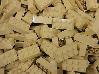 ☀️100 NEW LEGO 2x4 REDDISH BROWN Bricks ID 3001 BULK Parts star wars city town