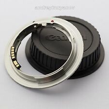Nikon F to Canon EOS EF Adapter with AF PROGRAMMABLE CHIP for all Canon DSLR