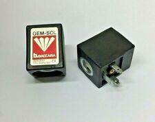 NEU GEM-SOL Magnetventil GEM-B-31 24V 50Hz 8W
