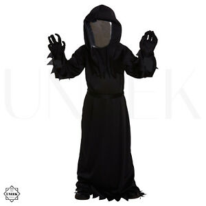 image is loading kids grim reaper halloween costume mirror mask dementor