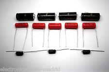 CAPACITOR KIT FOR FENDER SUPER-AMP 5D4 MODEL TUBE AMP - AMPLIFIER