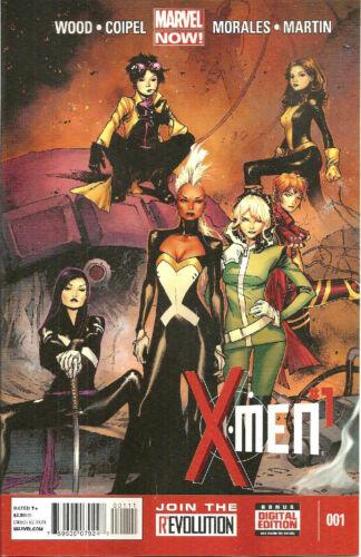 X-Men  #1   Regular  Cover  Marvel Now
