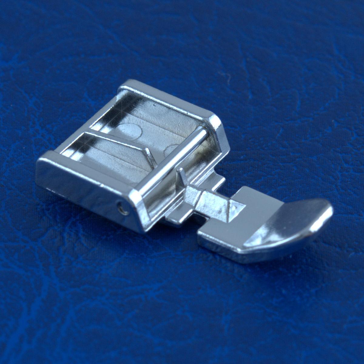 Amplia pie con cremallera para máquinas de coser doméstica Snap en puntada Presser UK