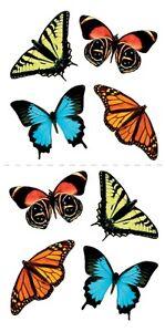 Scrapbook Stickers Paper House Butterflies Butterfly ...