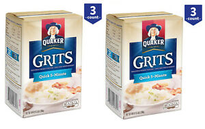 Details about 2 Pack Quaker Quick 5-Minute Grits 5 lb , 3 ct New-Free  Shipping