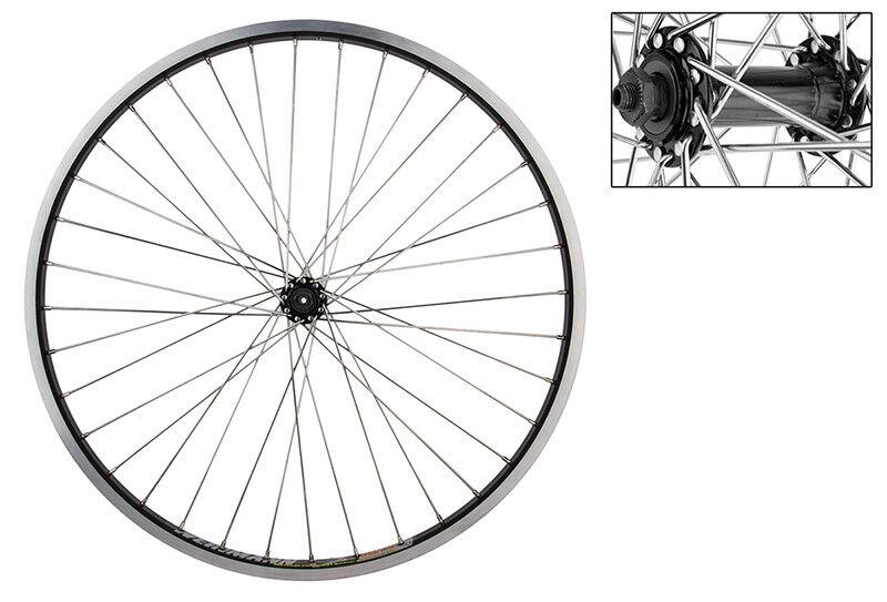 WM Wheel   Front 26x1.5 559x24 Wei Dm30 Bk 36 Aly Qr Bk 12gss  welcome to order