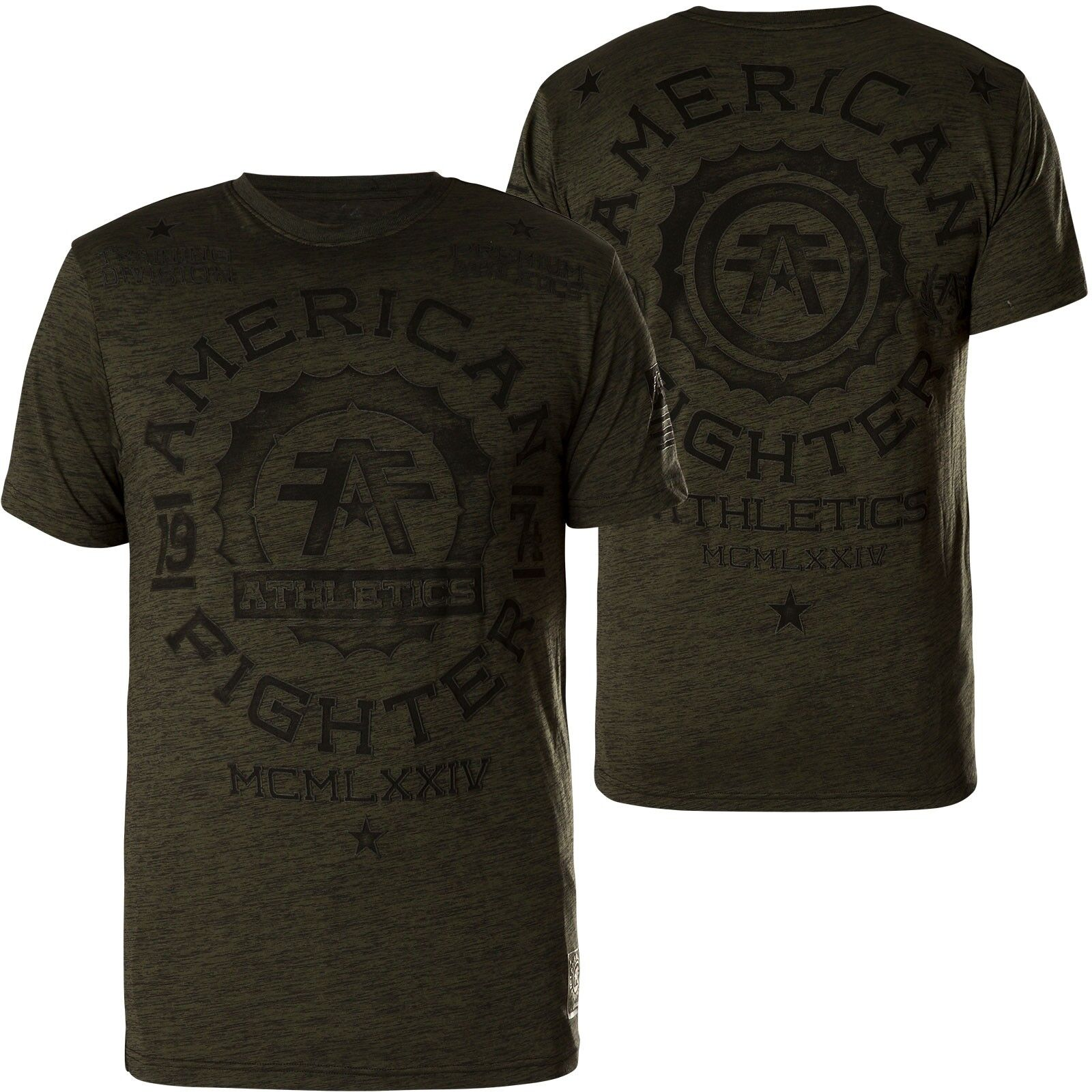 AMERICAN FIGHTER Affliction T-Shirt Maryland Olive T-Shirts     | Exzellente Verarbeitung