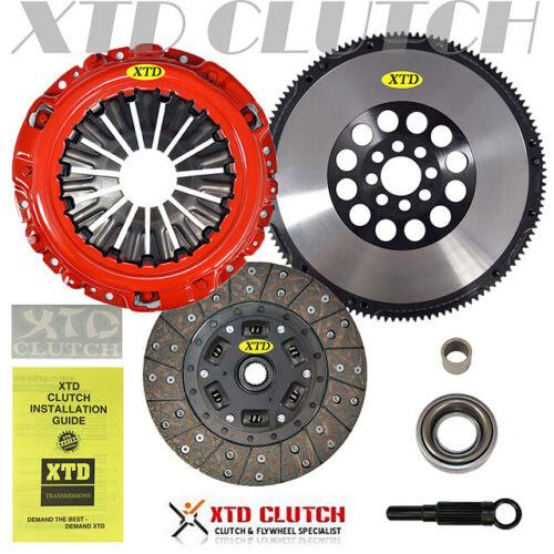 CLUTCHMAX STAGE 1 HD CLUTCH KIT /& CHROMOLY RACING FLYWHEEL FOR 350Z G35 VQ35DE