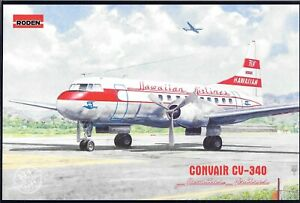 Roden-Convair-CV-340-Hawaiian-Airlines-in-1-144-334-ST