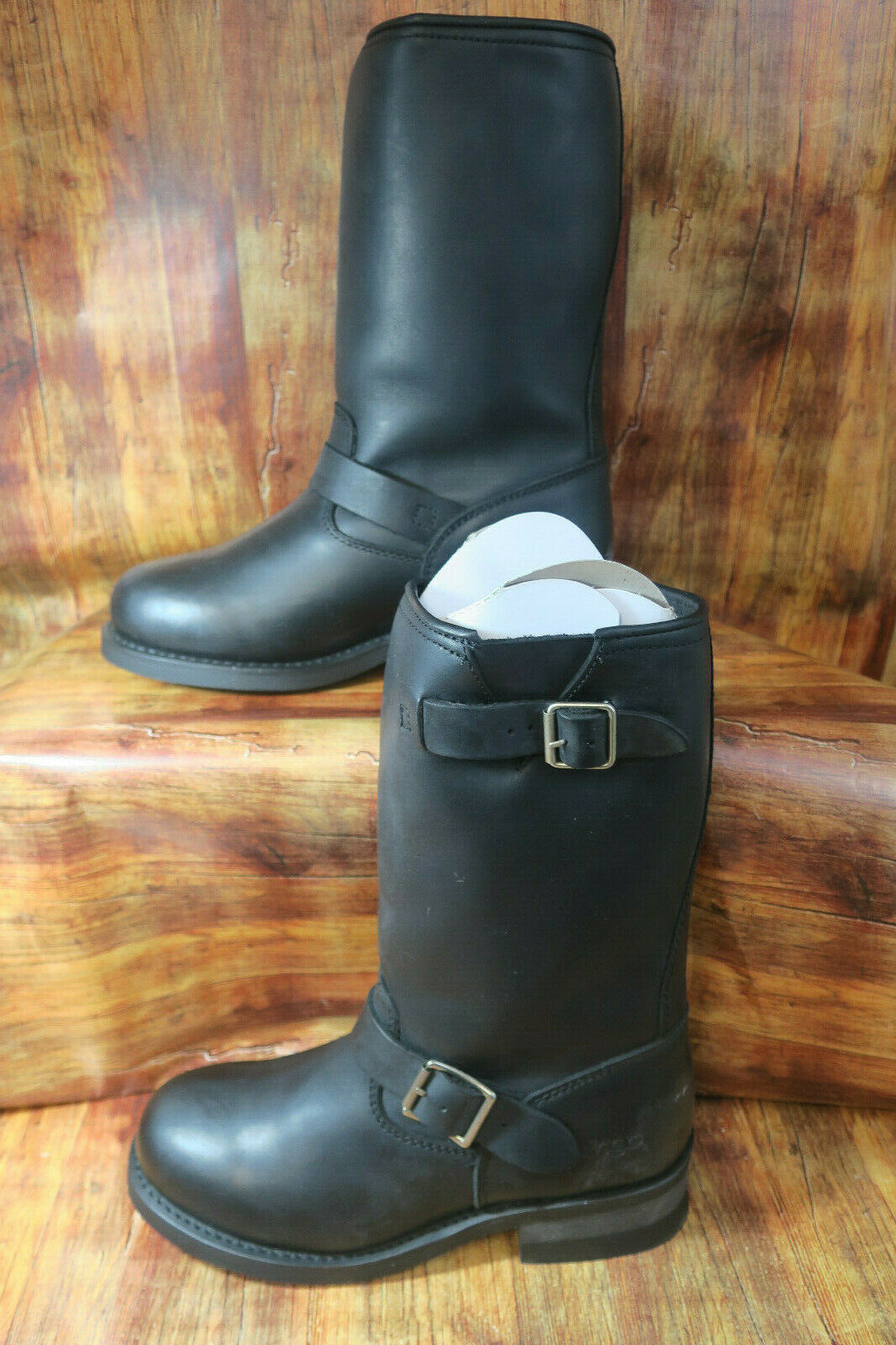 Dingo Rob 11  ingeniero 8 EW vaquero occidental De Cuero Biker botas DI19040