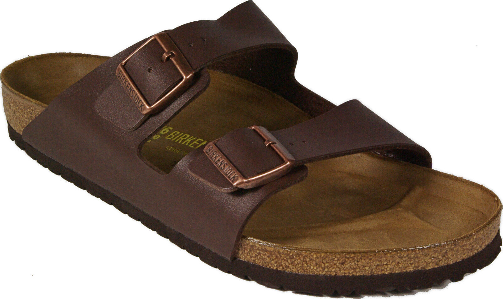 72bd008c2168 ... BIRKENSTOCK 051701 ARIZONA dark brown brown brown REGULAR FOOTBED Birko  Flor NEW 22d2d0 ...