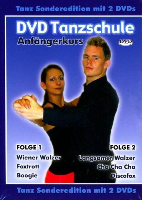 DVD Tanzschule: Anfängerkurs Folge 1 & 2 - Foxtrott - Boogie und mehr [2 DVDs]