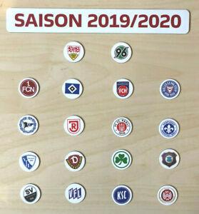 Details Zu 2 Bundesliga Logo Magnete Saison 2019 20 Alle 18 Vereine Fussball