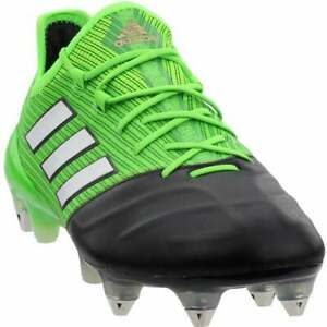 Details about adidas Ace 17.1 Leather Casual Soccer Soft Ground Cleats Green Mens