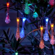 outdoor solar string light lights for design ideas home trees