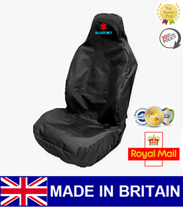 SUZUKI CAR SEAT COVER PROTECTOR SPORTS BUCKET HEAVY DUTY WATERPROOF VITARA