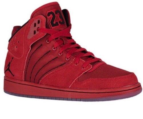 Top premium Air Scarpe Flight Sz Jordan in 1 600 Nike 640135069789 scamosciata 838818 pelle Hi rosso New 4 12 qnXnC5