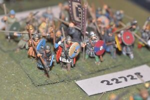 25mm Dark Age / Anglo-Saxon - Les Lanciers 24 Figs Inf (22728)