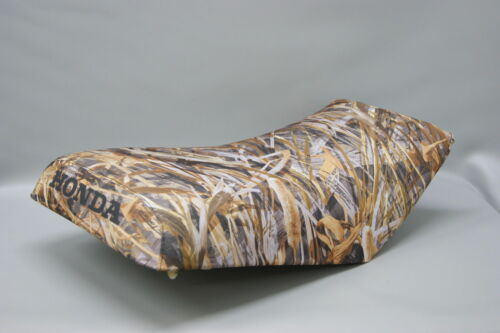ST HONDA TRX300 Fourtrax Seat Cover in 2-TONE Hornz Camo /& Black  or 25 COLORS