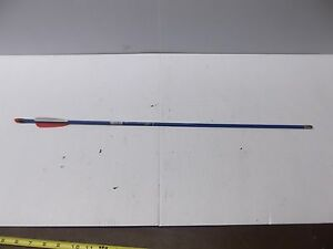 """Thunder Express Carbon Express 26"""" Youth Arrows 4 Pack Blue"""