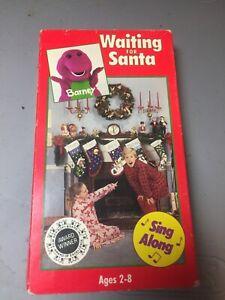 Barney & Backyard Gang Waiting for Santa Sing Along VHS ...