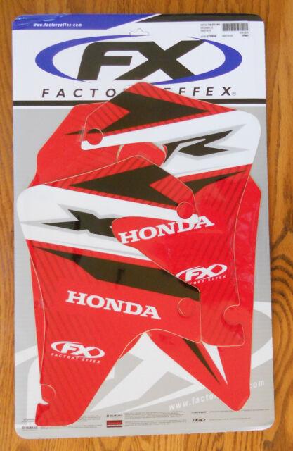 FX HONDA EVO XR 650 SHROUD TANK GRAPHICS KIT XR650 (2000 to 2010 bikes)  40% OFF