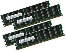 4x 1GB 4GB Samsung DDR 400Mhz PC-3200 Apple PowerMac G5