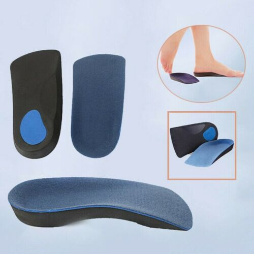 3//4 Orthopedic Insoles Shoes insert Arch Support pad for Heel plantar fasciitis