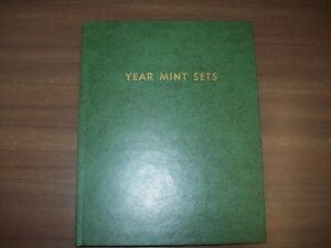 Vintage Green Whitman Folder # 9240 for Year Mint Sets