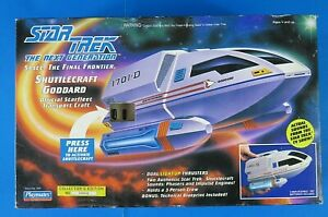 1992-STAR-TREK-Next-Generation-SHUTTLECRAFT-GODDARD-TRANSPORT-CRAFT-6101-NEW