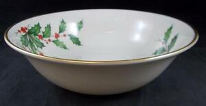 Lenox-HOLIDAY-Party-Bowl-9-3-8-034-diameter-GREAT-CONDITION
