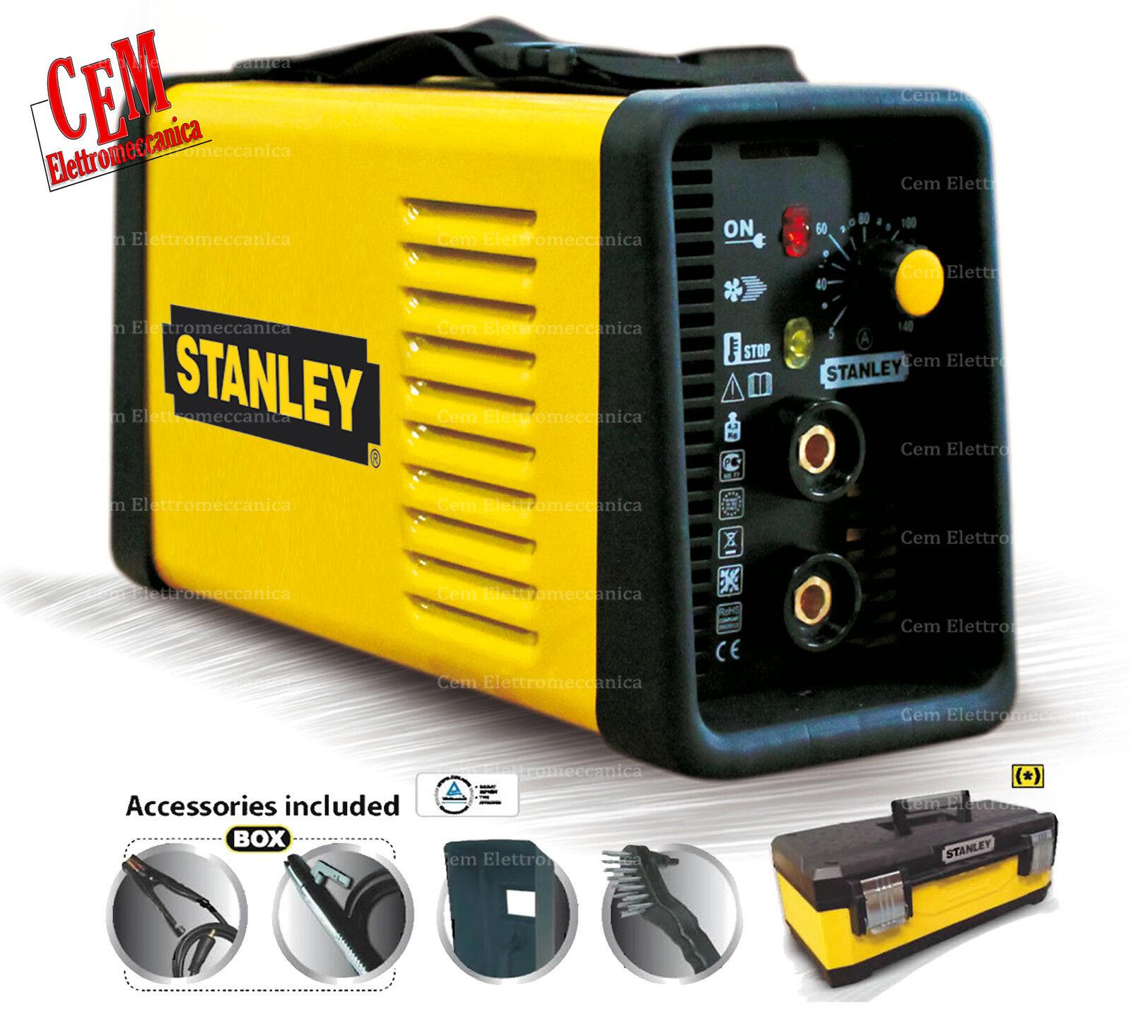Soudure Stanley Power 140 Technologie Convertisseur - en Valise avec Accessoires