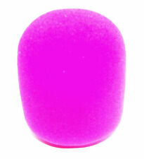 From Oz Quality Foam Windbreak Protector Shielding MC Stage Microphone Pink +FP!