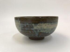 Japanese-Pottery-Tea-Ceremony-Bowl-Chawan-Vintage-Signed-Shodai-Ware-Matcha-Y399