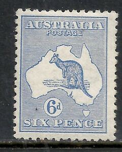 Australia-stamps-1913-SG-9-MLH-VF