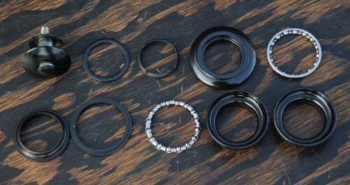 "Black 1/"" ThreadLess HEADSET  Vintage MTB Mountain Bicycle FiXiE Road Bike Fork"