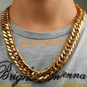 316l stainless steel gold chain