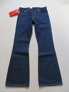Levi-039-s-516-Flare-Schlag-Jeans-Hose-W-34-L-36-NEU-Dark-Indigo-KULT-Denim