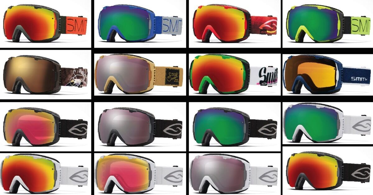SMITH OPTICS I O SKIBRILLE - SNOWBOARDBRILLE - GOGGLE - NEU