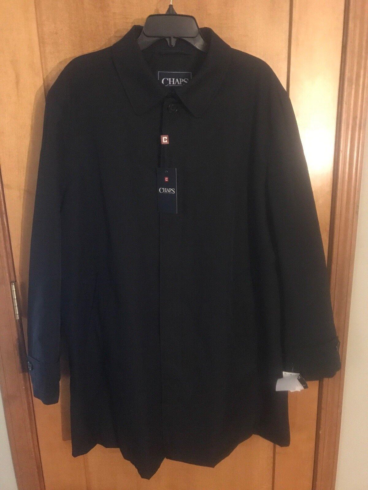 RALPH LAUREN Chaps Rain Trench Coat With Woolen Liner - Sz 44R - Retail 250