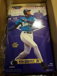 "Ken Griffey Jr. Seattle Mariners 1997 Kenner Starting Lineup 12"" Figure Doll New"