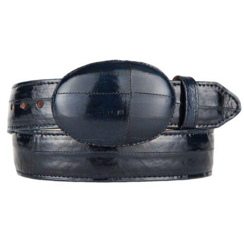 Men/'s King Exotic Genuine Eel Western Cowboy Belt Removable Buckle Handmade