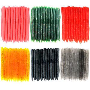 "Senko Stick Bait 5 1//2/"" Soft Plastic 30 /& 50 Lures Worm Pro Stickbaits Bass Fish"