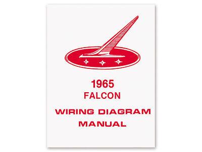 1965 Falcon Wiring Diagram Manual Schematic Futura Sprint ...