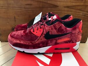 Details about Nike Air Max 90 Anniversary Velvet Gym Red Infrared Atmos size 9 9.5 10.5