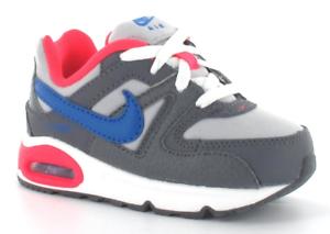 Dettagli su Nike Air Max Command (TD) Scarpe Junior GreyBluePink 412229 043